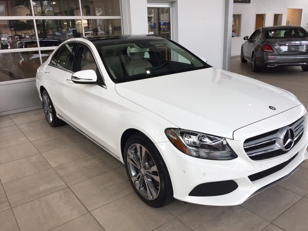 Certified Pre Owned 2016 Mercedes Benz C Cl 300 4matic 4d Sedan
